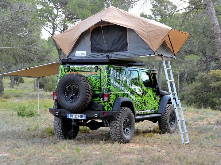 Tente de toit FrontRunner chez Bumper Off Road
