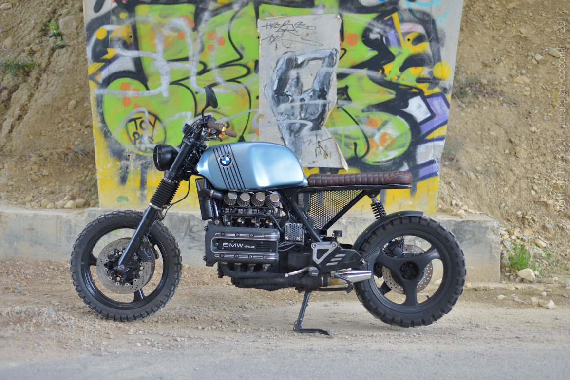 bmw k100 scrambler by simply motor photographe aix en provence bleu ocean martial thiebaut. Black Bedroom Furniture Sets. Home Design Ideas
