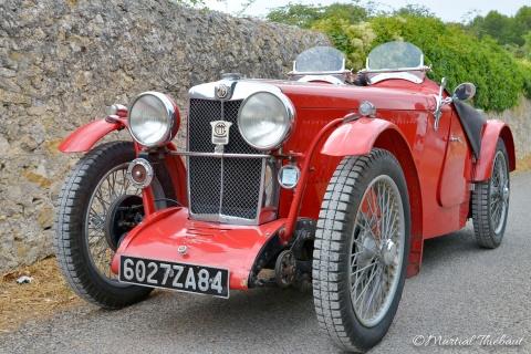 LaMG type Jvoiture de sportproduite parMGde 1932 à 1934. Restauration Authentic Garage Saint Cannat