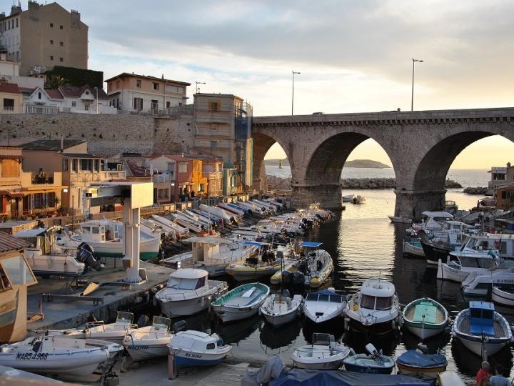 Le Vallon de Auffes à Marseille par Eric Furfaro