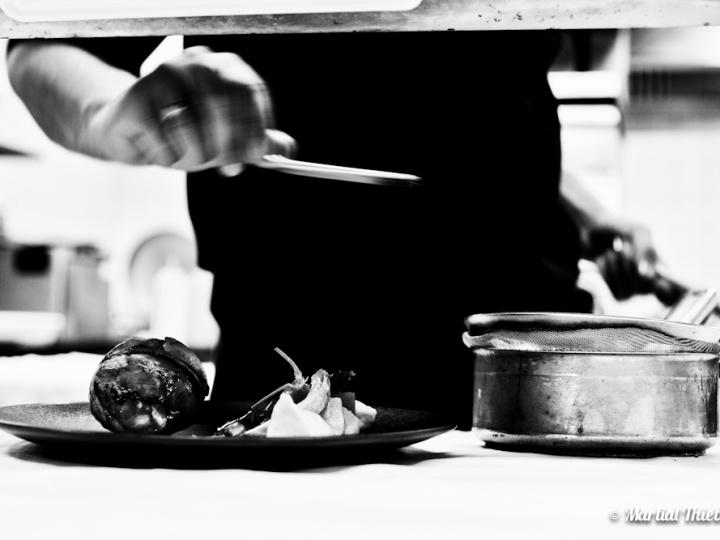 Du noir et blanc en cuisine …