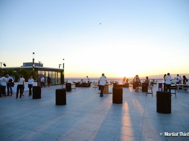 Soirée Aux Terrasses du Port à Marseille