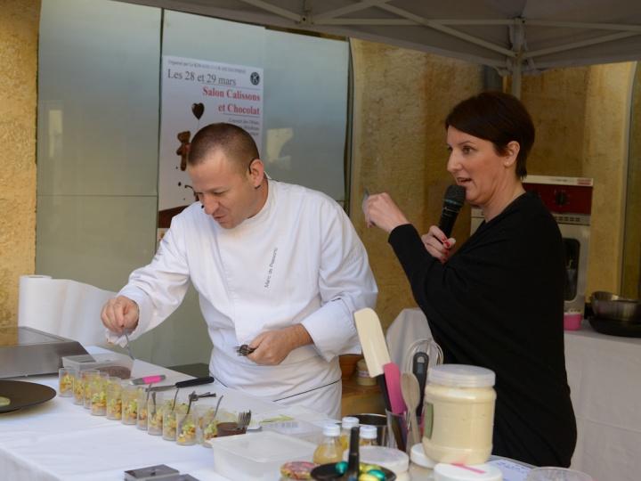 Salon du chocolat à Aix en Provence organisé par Le Kiwanis Aix Dauphins