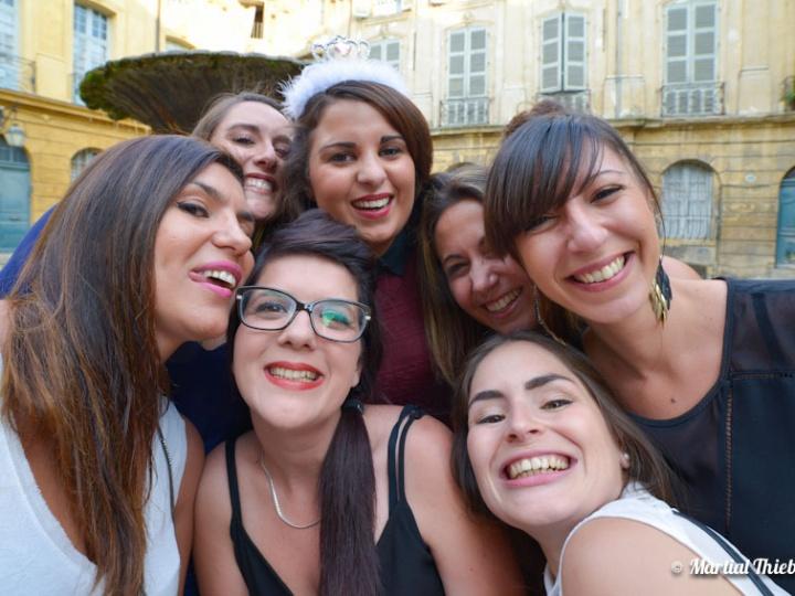 EVJF – Enterrement de vie de jeune fille – Aix juin 2015