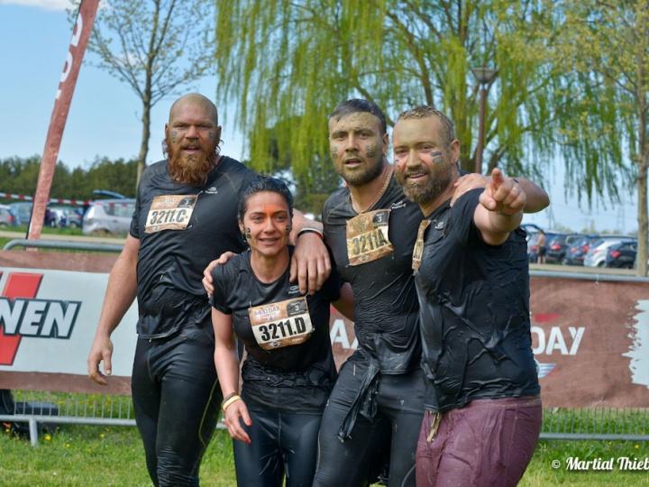 Mud Day d'Aix en Provence 2016 avec Sylvain REUS et ses amis …