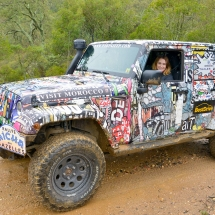 Domaine des Murenes Rallye Gazelles Bumperoffroad JJames 80