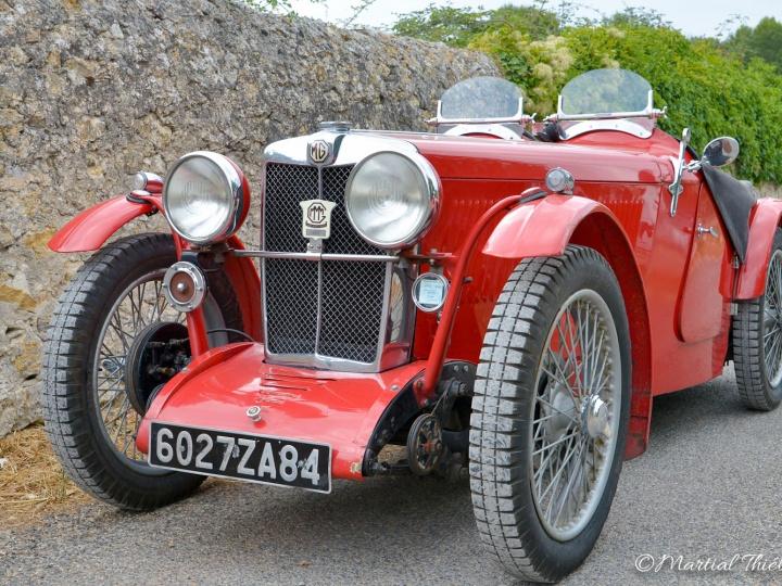 MG Type J de 1936, Restauration Authentic Garage Saint Cannat