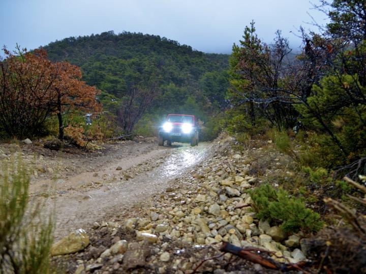 Rando Jeep only avec Teraflex Europe, Bumperoffroad et Découverte Offroad