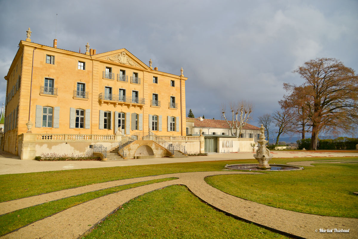 Château de Fonscolombe Le Puy-Sainte-Réparade - Hôtel restaurant Aix en Provence - photographe Aix en Provence Martial Thiebaut