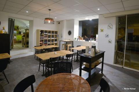 Tandem bio nature restauration, epicerie bio, salon de thé Rognes 13