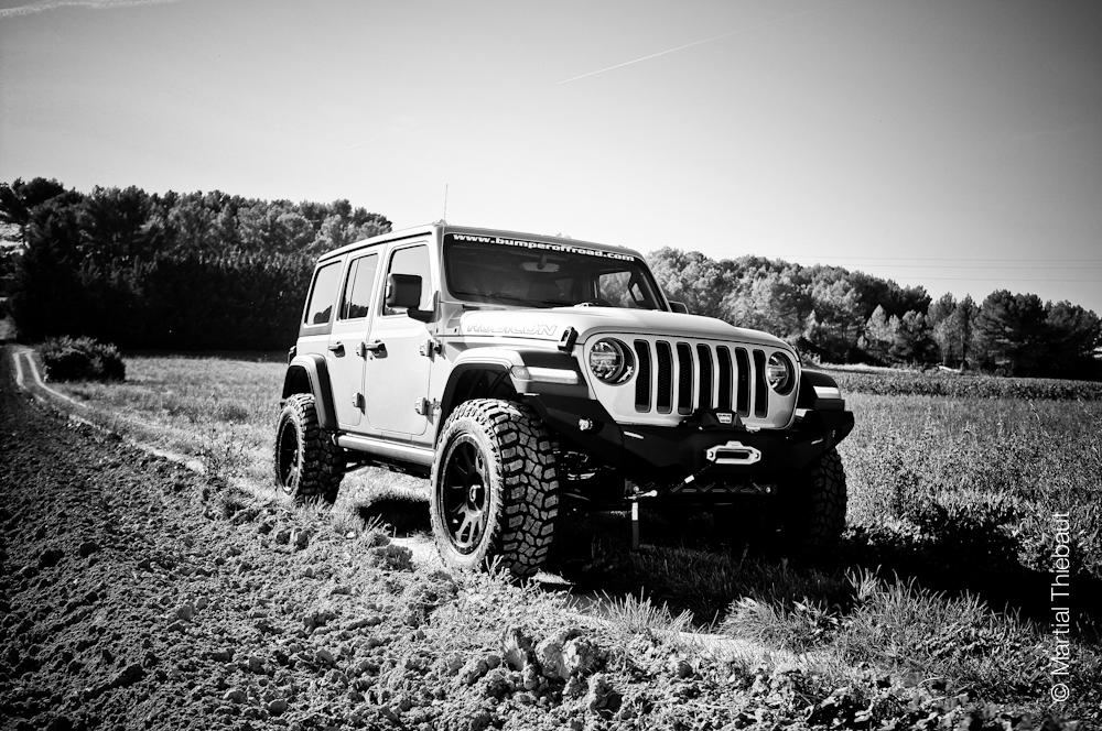 Prepa jeep JL by Bumperoffroad