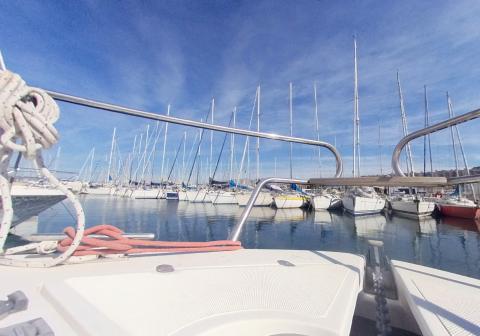 Annonce bateau occasion pour Yacht Méditerranée – Jeanneau Marseille RIO 32 BLU de 2008 en 360
