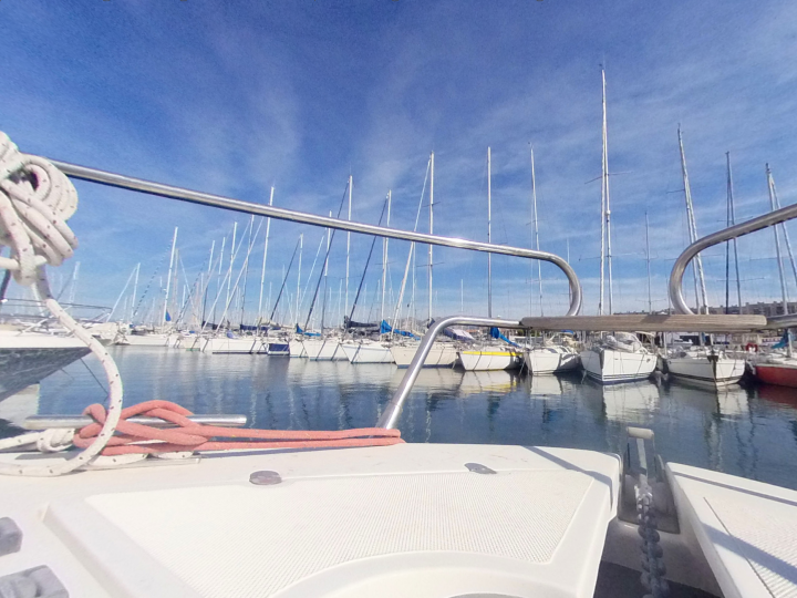 Annonce bateau occasion en 360° Yacht Méditerranée – Marseille